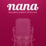 iPhoneアプリ「nana」使ってみました